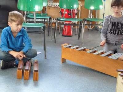 Musik-AG im 1. Schuljahr 2016/2017